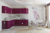 feminine-pink-kitchen-with-dining-space