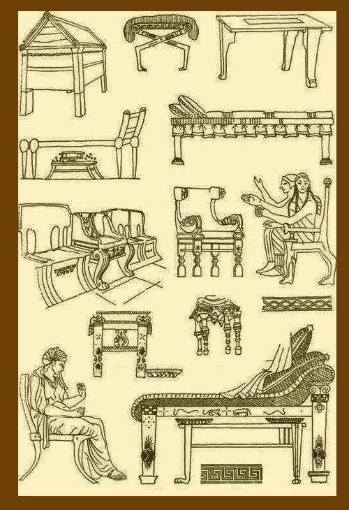 мебель в древнем риме картинки компании давно пытаются