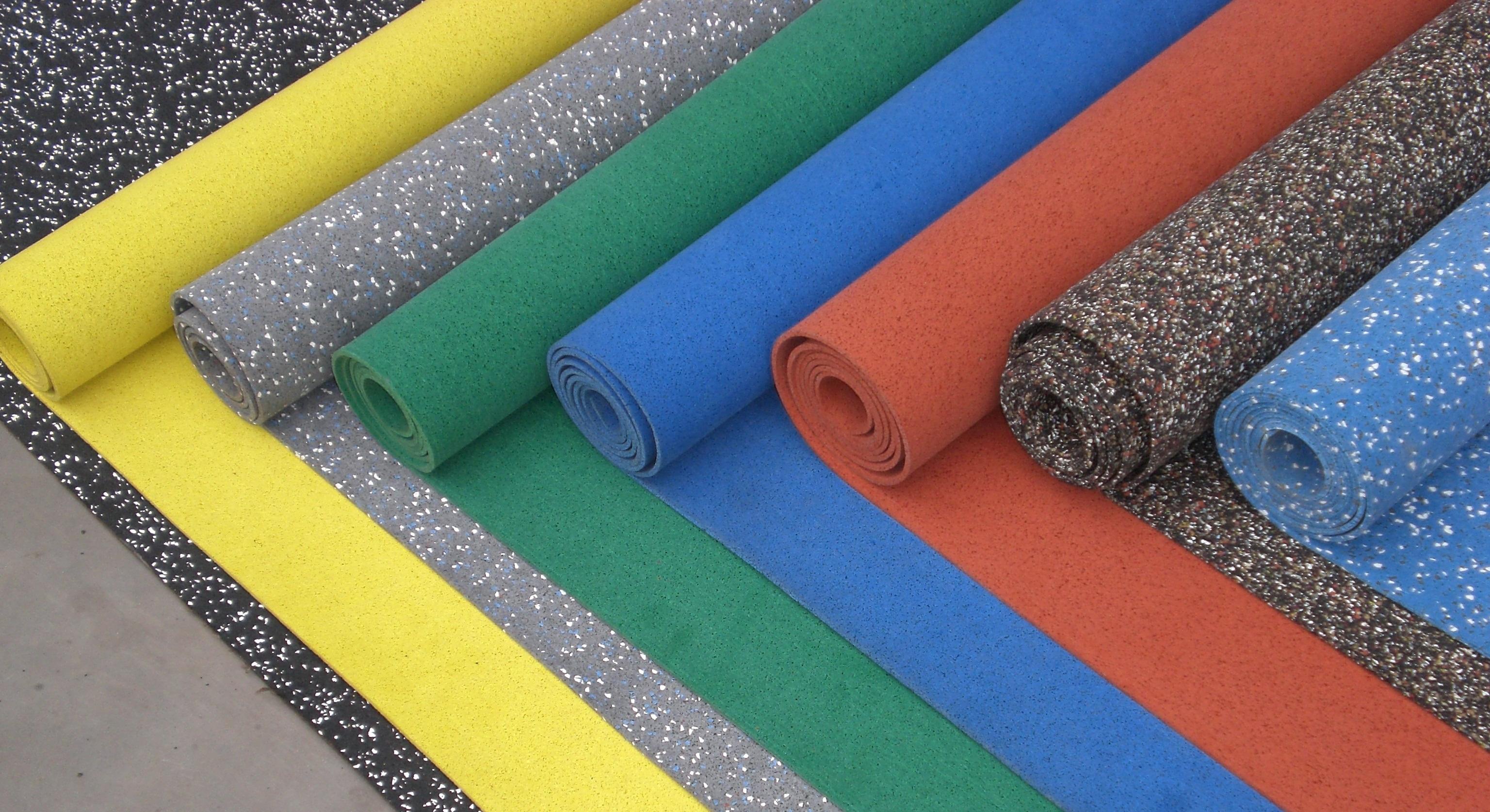 резиновые покрытия рулонные