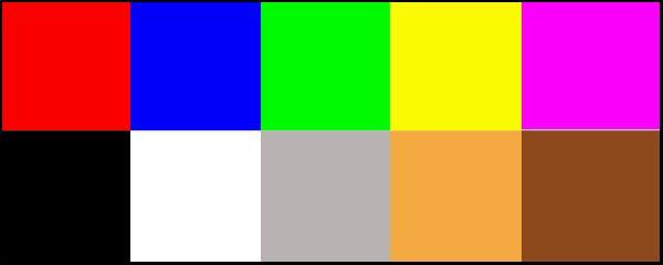 Тесты психологические с цветами