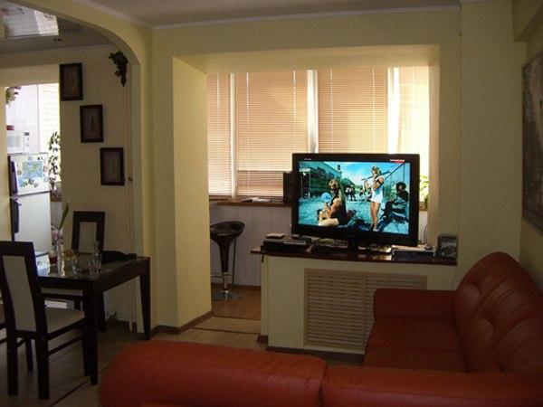 Дизайн лоджий совмещенных с комнатой